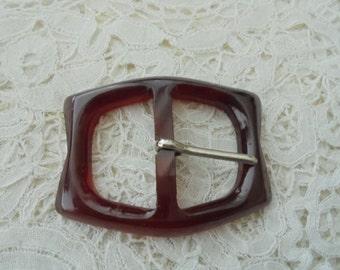 Bakelite buckle 1930's