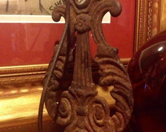 Awesome, Antique, Cast Iron, Receipt Hook