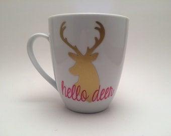 Cute coffee mug Etsy