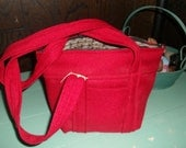 Fabric purse, fully lined.