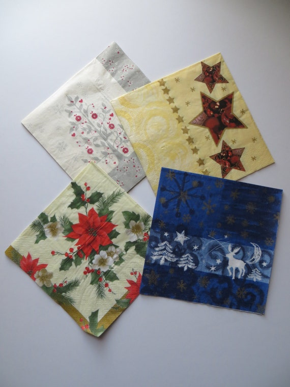 craft ideas with paper napkins items similar to paper napkin decoupage set 6335
