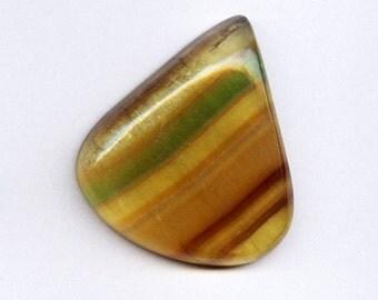 69.72 Ct. Huge Stunning Muti Colored Fluorite Cabochon