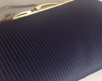 Pleated Vintage Evening Bag in great condition