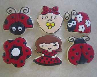 Tasty Ladybug Collection of Cookies