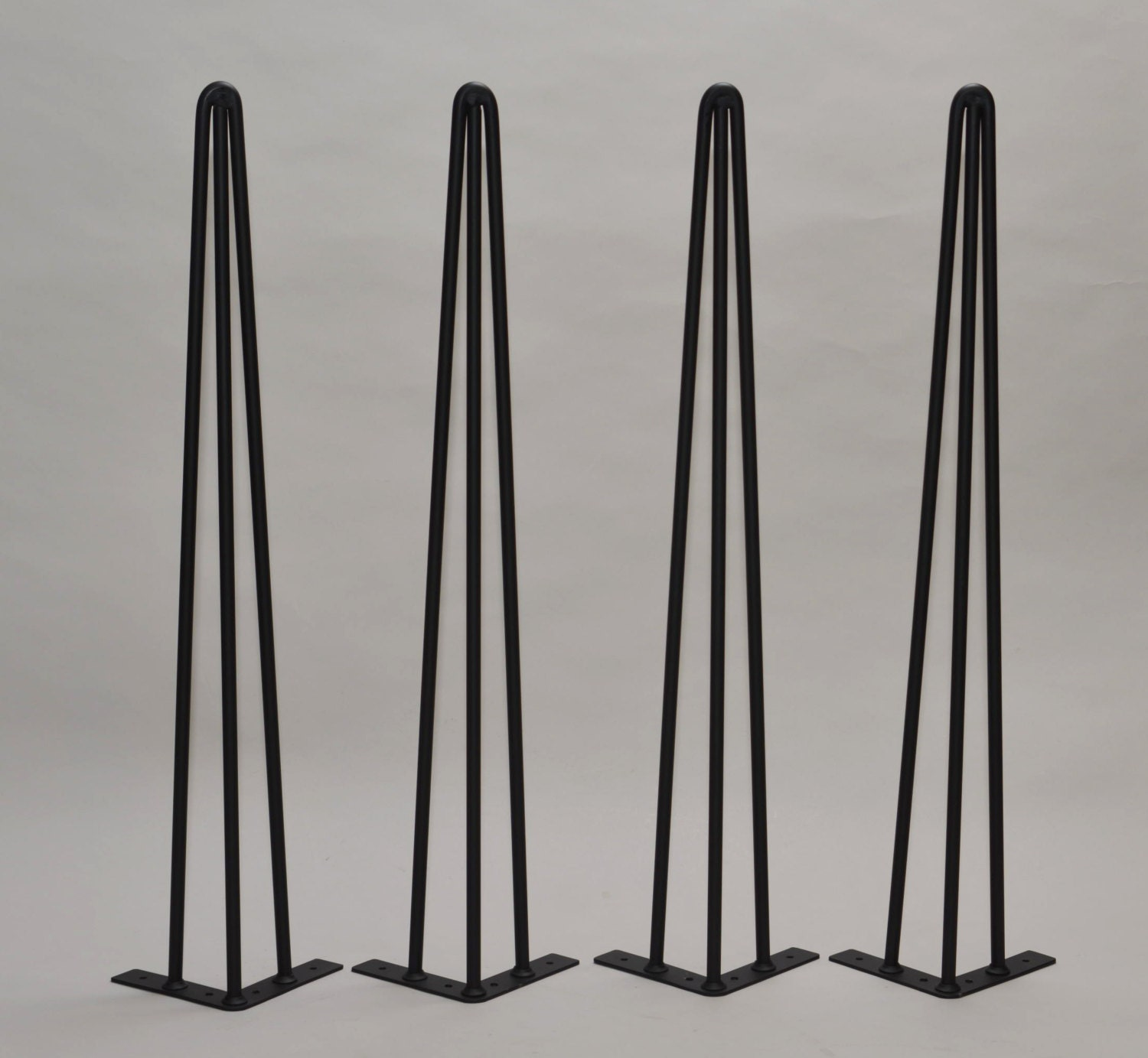 28 eames era hairpin legs vintage mid century table by studioaxis. Black Bedroom Furniture Sets. Home Design Ideas
