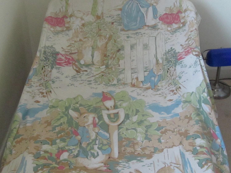 Beatrix Potter Peter Rabbit Vintage Single Twin Duvet Cover