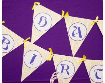 Tangled Birthday Party ; Tangled Banner; Tangled Birthday Party Decor