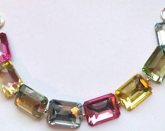 Multi-coloured Acrylic Bracelet