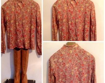 Vintage Handmade Blouse
