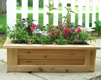 Deck Planter, Outdoor Planter, Indoor Planter, Wooden Planter, Flower Box, Patio Planter