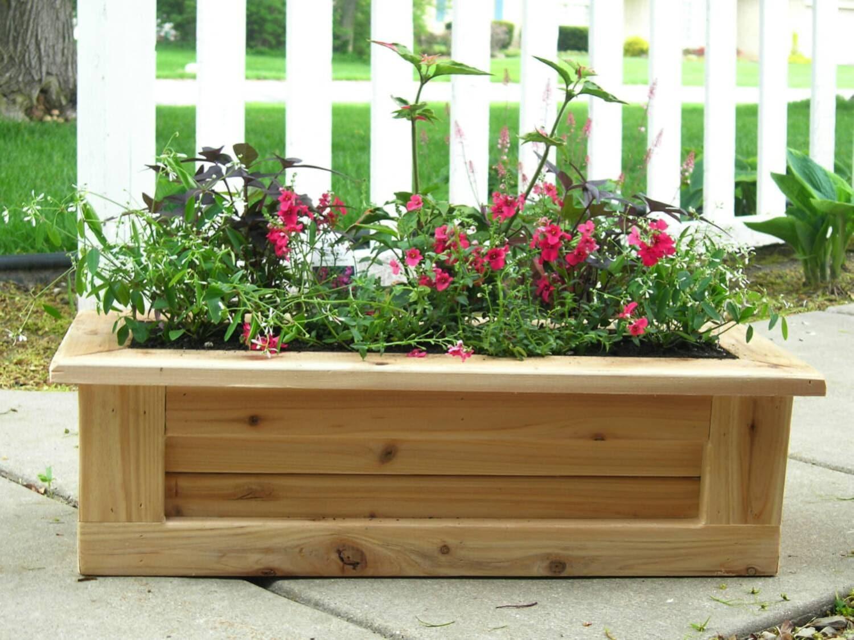 deck planter outdoor planter indoor planter wooden planter. Black Bedroom Furniture Sets. Home Design Ideas