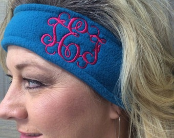 Monogramed Headband-Ear Warmer