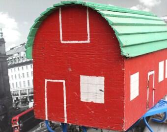 Wooden Barn Playhouse