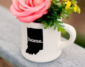 Indiana home. Ceramic Coffee Mug