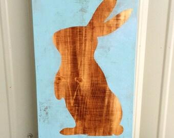 Easter Decor, Easter Sign, Easter, Rabbit Decor, Rabbit Sign, Spring Sign, Spring Decor, Easter Rabbit Decor