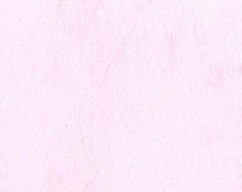 Pink solid cozy cuddle fabric my Michael Miller Fabrics