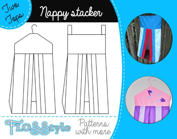 Nappy Stacker Pdf Pattern 2 Designs With Easy By Flosstyle