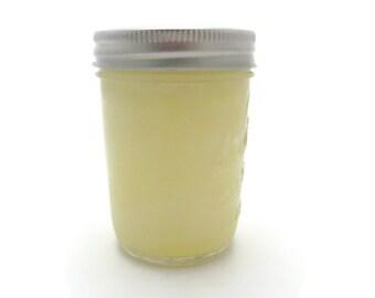 8 Oz, Half Pint Mason Jar Soy Candle - Brandied Pear, Wedding, Housewarming, Shower Gift, Gift Under 10