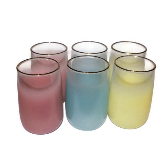 Hand Painted Comical Margarita Glasses
