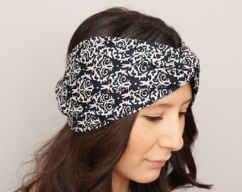 Woman Headband ,Twisted  headband,Turban Headband ,workout  headbeand,