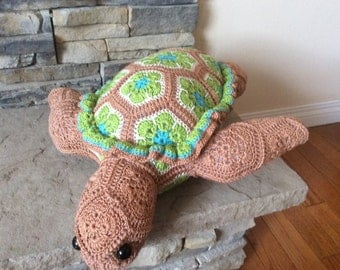 Crochet Atuin the Turtle - Heidibears Design