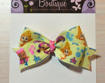 Boutique Style Hair Bow - Bubbleguppies
