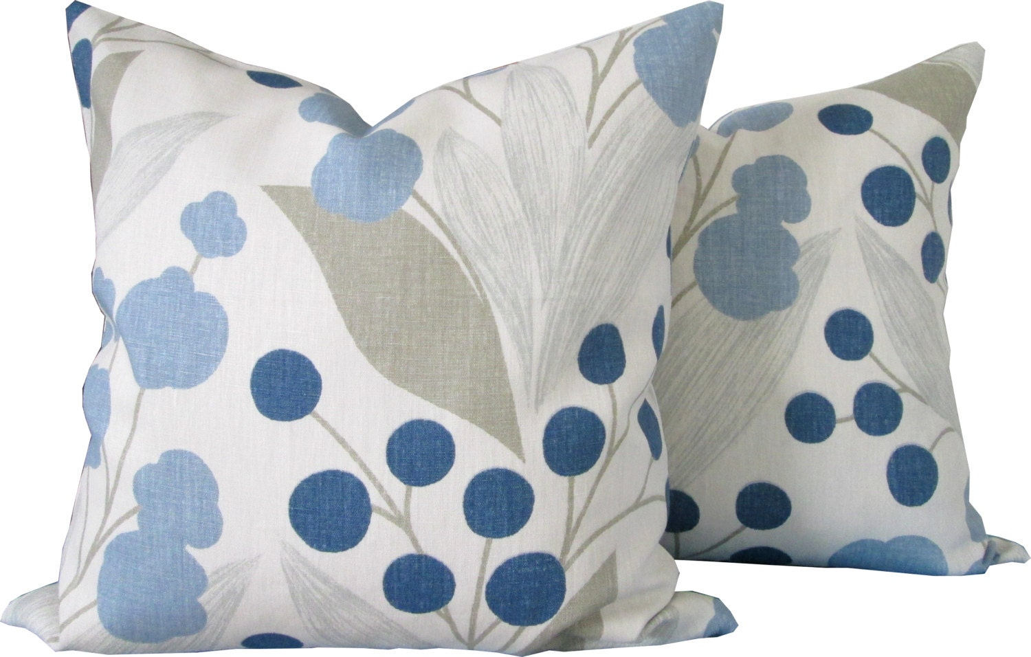 Designer Decorative Pillow Cover-Kravet-Floral Design-Double