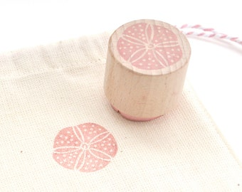 Urchin Stamp - Hand Carved Rubber Stamp by The Little Stamp Store
