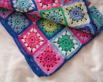 Crochet baby blanket / handmade