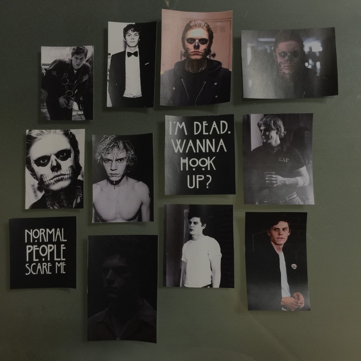 Evan Peters Collage Il Fullxfull Dng