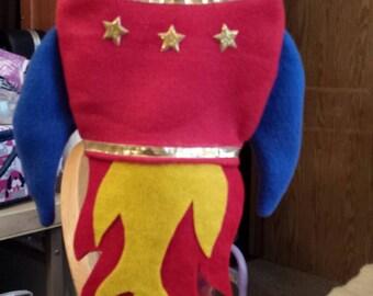 Rocket Ship hand puppet