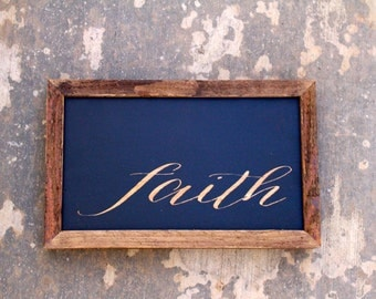 Faith sign