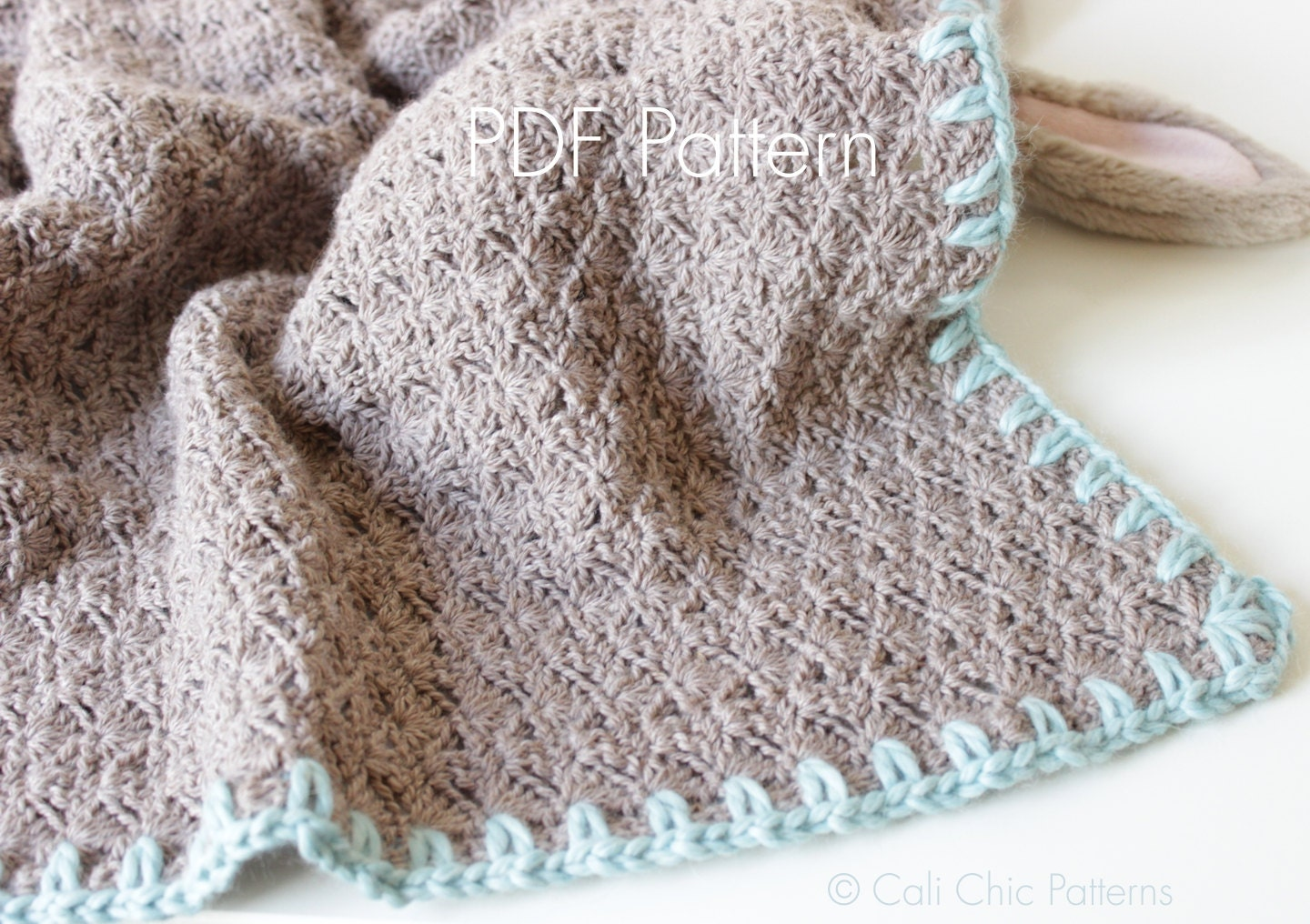 Crochet Baby Blanket Patterns To Download : Crochet Baby Blanket PATTERN 16 Cupcake by CaliChicPatterns