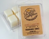 Gone Camping Scented Wax Melts - Maximum Fragrance Wax Cubes - Fall Scents Outdoor Campfire and Marshmallow Aroma Tart Candles