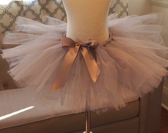Grey Tutu - Gray Tutu - Kid's Tutu - Girl's Tutu