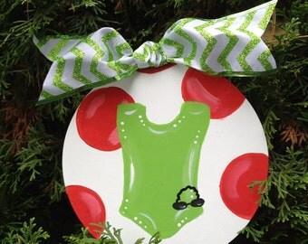 Swimmer ornament swim team ornament