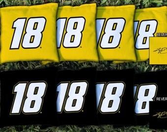 Kyle Busch #18 Cornhole Bags - NASCAR Licensed