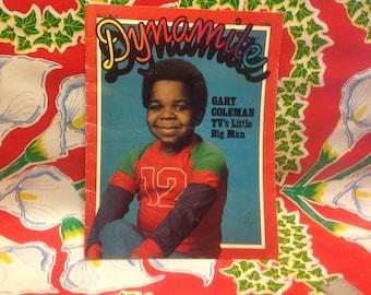 Vintage children's Scholastic Magazine- Dynamite, 1979