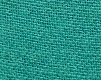 "60"" Inch Jade Color Burlap - By The Yard"