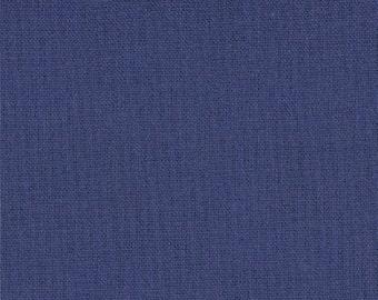 Navy Blue Fabric - Bella Solid Bright Sky by Moda Basics  9900 48 Admiral - 1/2 yard