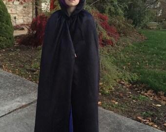 Team Titans Raven Cape Halloween Dress Up Costume