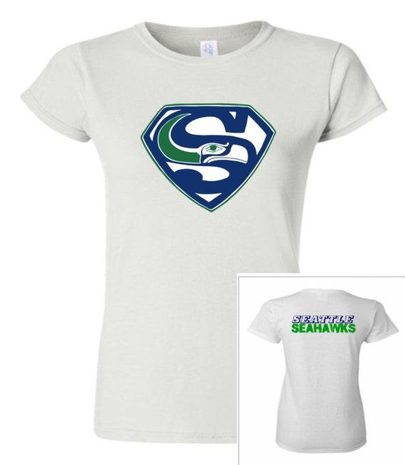 Items similar to seattle seahawks design ii women t for Custom dress shirts seattle