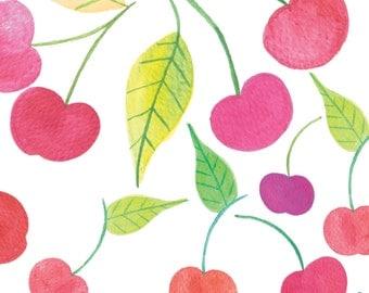 Papel digital de cerezas