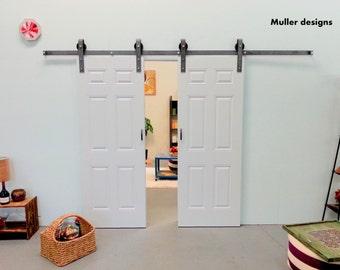 Double Door, Sliding Barn Door Hardware,  sliding door.
