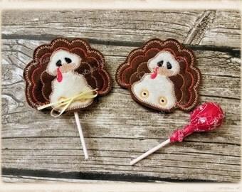 Turkey lollipop cover
