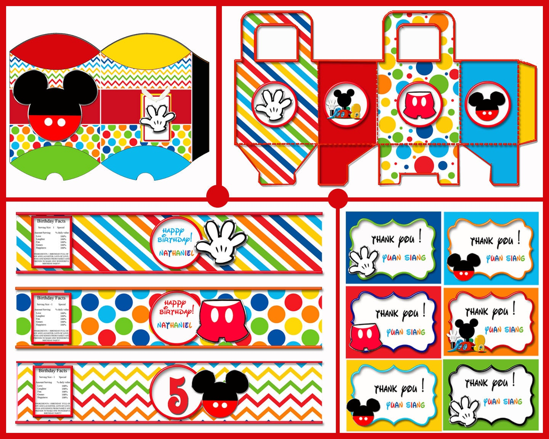 Mickey Mouse Birthday Party Mickey Mouse Invitation Mickey