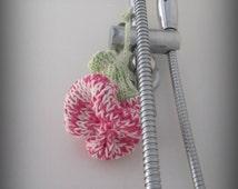 PDF Knit Pattern - Shower flower - Body scrubbie, Soap saver