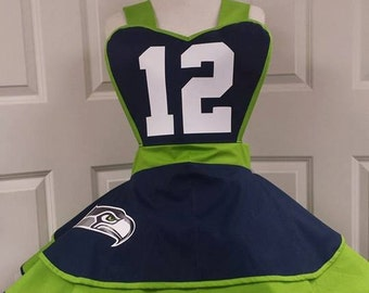 Sports Team Apron Pinafore
