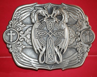 Osborn Cross Biker Belt Buckle