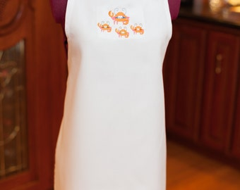 Custom aprons for a crab feed
